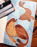 Seals by JessieDrawz