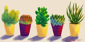 Plant Children by JessieDrawz