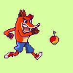 Crash Bandicoot by CoffeeBeeArts