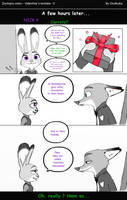 Zootopia comic - Valentine's mistake page 2 by OceRydia