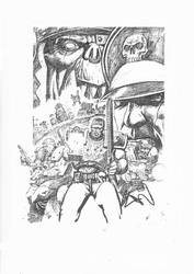 Warhammer-Orc v Imperial Guard by ARTRIAD