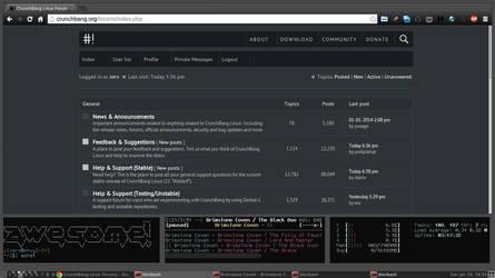 2014.01.19-xero.crunchbang-awesome-dirty-web by siliconSwordz