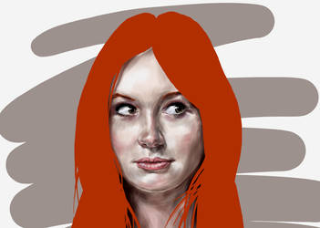 Karen Gillan by HeavenhairSixes