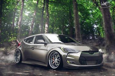 Hyundai Veloster new body kit by asoares