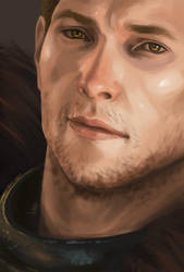 Commander Cullen Rutherford ~ in technicolor :P by cute-ellyna