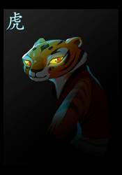 Kung Fu Panda - Tigress by neokeia