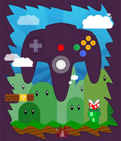 N64 Land - Controller by neokeia