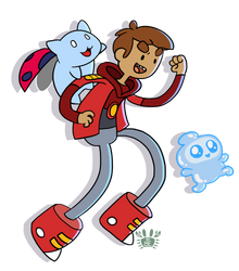 Bravest Warriors - Danny! by neokeia