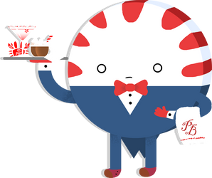 Peppermint Butler by neokeia