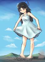 Arisu with a Summer dress by Iodain