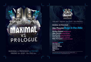 Maximal A6 Club Flyer by Perfectedesigns