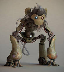 Robo-Monkey by Dave-the-squid