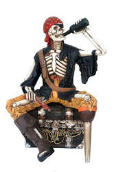 Skeleton Pirate by Dave-the-squid