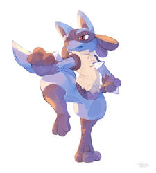 Lucario by brow9637