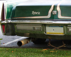 art car, rear by Pooleside
