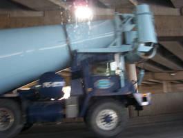 truck concrete by Pooleside