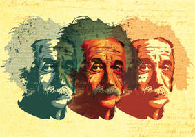 Einstein by Ekhi-Guinea