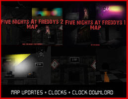 FNAF Maps Updates + Clock Download by Zophrenia