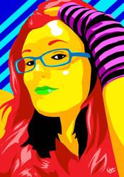 Shannon Pop Art by Vestque
