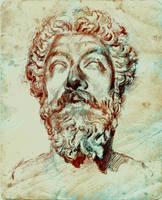 Marcus Aurelius by SILENTJUSTICE