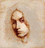 Self Sketch left hand made by SILENTJUSTICE