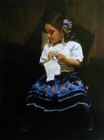 The Girl in the Mochero by SILENTJUSTICE