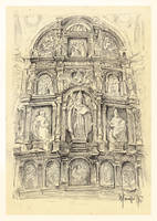 Study of altar piece by SILENTJUSTICE