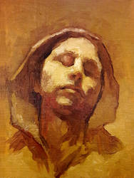 Small practice in oils SPM blind by SILENTJUSTICE