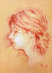 Oil sketch IM by SILENTJUSTICE