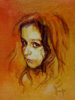 Daily portrait practice 8119OIL by SILENTJUSTICE