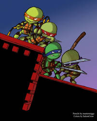 TMNT by MasterMiggy w color by SalemCrow