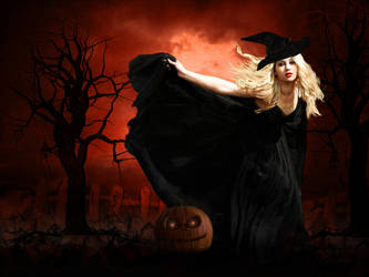 Black Magic Woman by OhLizz