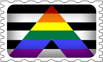 Straight Ally Pride Stamp by lovemystarfire