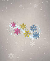 Pansexual Snowflakes by lovemystarfire