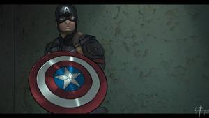 Civil War: Captain America by Leroy-Fernandes