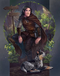 Aldym and Dokoto by Freyad-Dryden