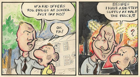 Drug Dad by space-in-mind