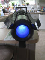 tv version Black Rock Shooter Arm Cannon by cubseidl