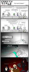 Minecraft Comic: CraftyGirls Pg 42 by TomBoy-Comics