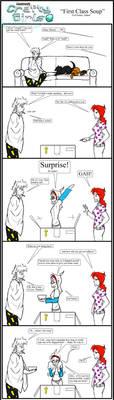 Minecraft Comic: CraftyGirls Pg89 Feel Better Adam by TomBoy-Comics