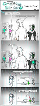 Minecraft Comic: CraftyGirls Pg 92 by TomBoy-Comics