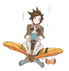 Tracer Sketch by MadiBlitz