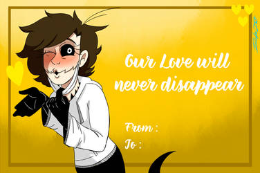Disappear (Raven's Valentine's Day Card) by Rocker2point0