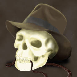 Indy's skull by Piessa