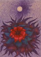 Space Flower by wojtekkowalski58