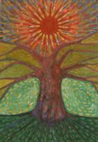 Sun And Tree by wojtekkowalski58