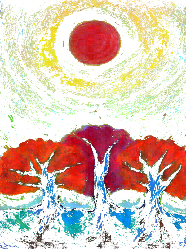 Three Suns by wojtekkowalski58