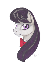 Octavia with Markers by ciaranbenson