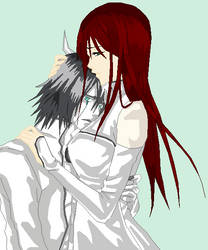 Together with Ulquiorra-sama. by murfforever