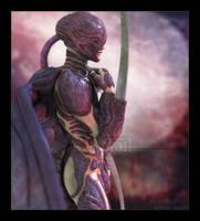 Airborne Hunter by Mavrosh
